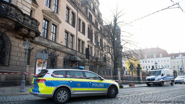 Дрезденська поліція розшукує злодіїв