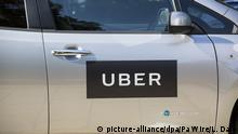 Großbritannien London | Uber Logo