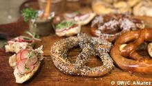 DW Sendung Con sabor y saber Sandwich Brezeln