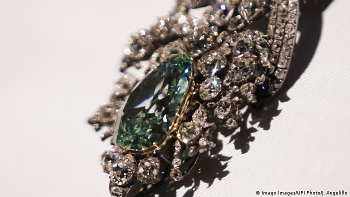 Diamante Verde de Dresden, de 41 quilates