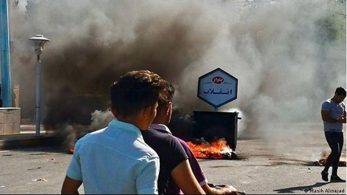 Iran Proteste in Andimeshk (Masih Alinejad)