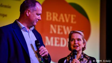 Brave New Media Forum DW Akademie in Belgrad (DW/M. Erdelji)