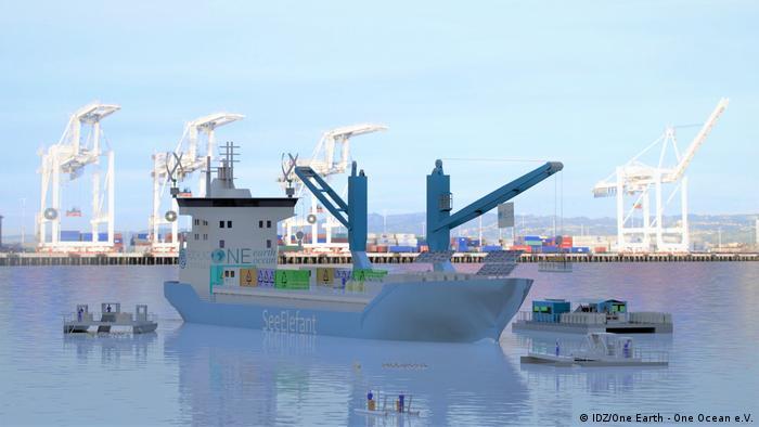Una foto del barco SeeElefant.