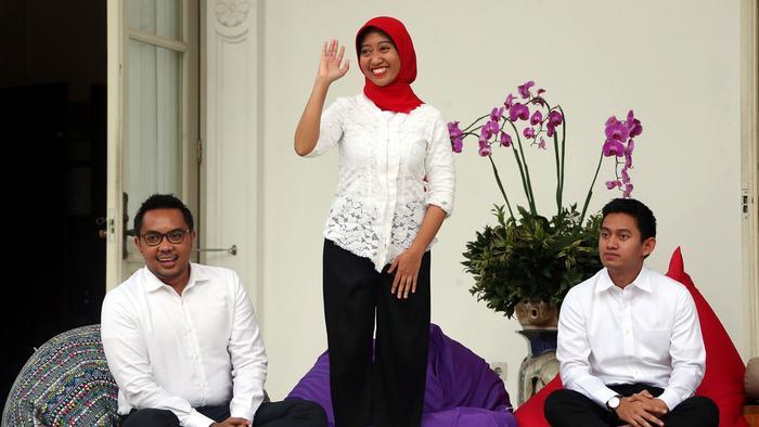 Indonesien Präsident Joko Widodo Einführung Beraterteam