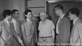 Με φοιτητές του στο αμερικανικό πανεπιστήμιο Princeton