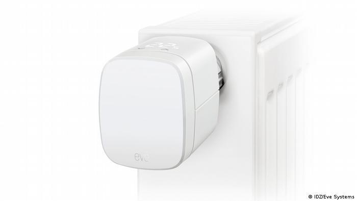 Una foto de la calefacción inteligente.