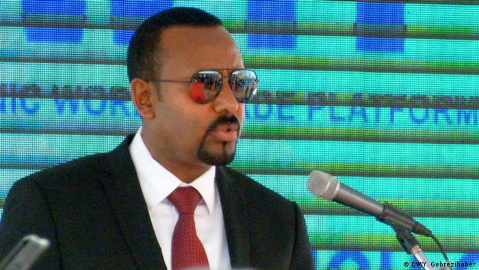Ethiopia Prime Minister Abiy Ahmed (DW/Y. Gebrezihaber)