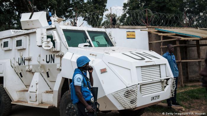Demokratischen Republik Kongo Beni   Monusco Fahrzeug