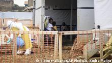 Demokratische Republik Kongo Beni - Ebola Zentrum