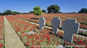 Το γερμανικό στρατιωτικό νεκροταφείο στο Μάλεμε