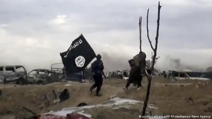 Syrien März 2019 | IS-Kämpfer in Baghouz