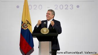Proteste in Kolumbien Ivan Duque