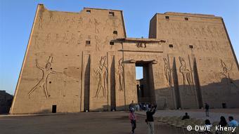 Enterance gate to Edfu Tempel