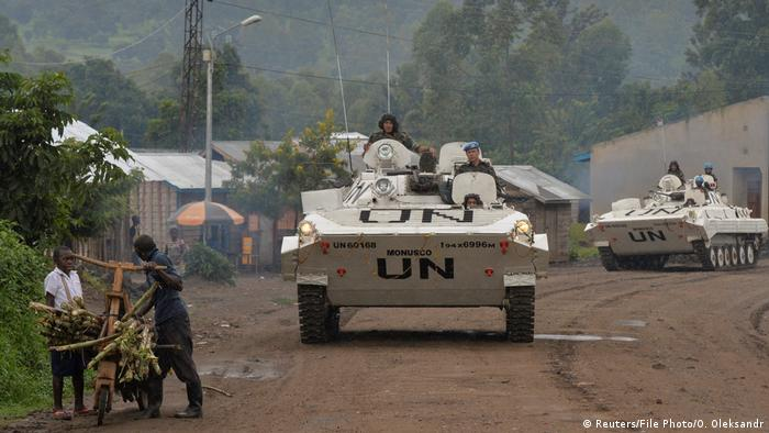 UN tanks on patrol in eastern DRC (Reuters/File Photo/O. Oleksandr)