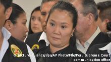 Peru | Oppositionsführerin Keiko Fujimori soll aus Haft entlassen werden