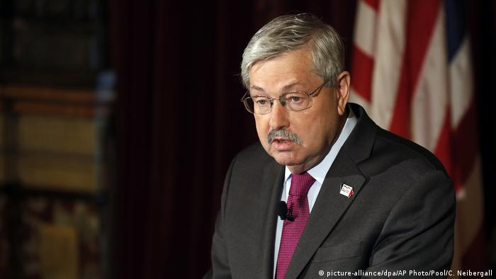 Terry Branstad | US Botschafter (picture-alliance/dpa/AP Photo/Pool/C. Neibergall)