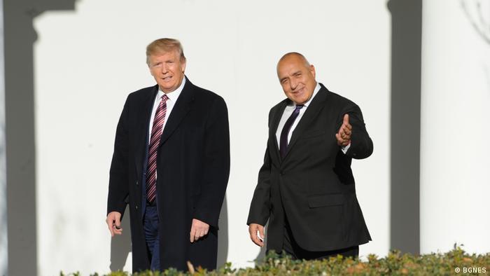 Борисов и Тръмп във Вашингтон