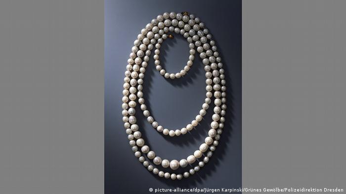 Ожерелье из речного жемчуга датировано 1805 годом