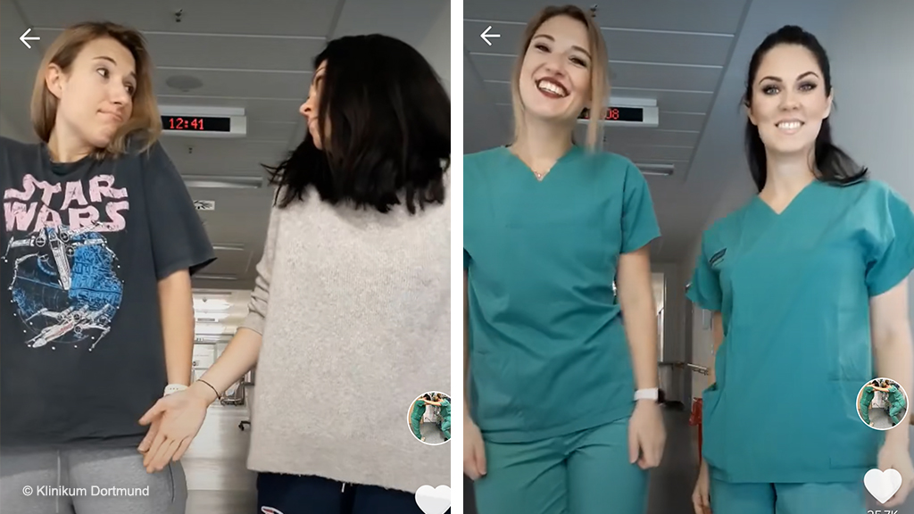 How A German Hospital Uses Tiktok To Recruit New Talent Business Economy And Finance News From A German Perspective Dw 26 11 2019
