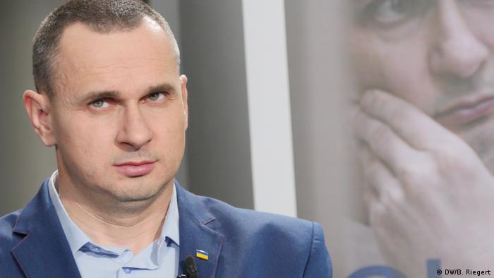 Oleg Senzow im DW Interview, Straßburg
