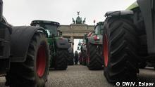 Bauern-Demo in Berlin 26.11.2019