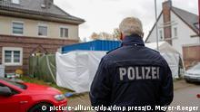 Alsdorf | Missbrauchsfall in Bergisch Gladbach - Polizei untersucht Haus eines Verdächtigen