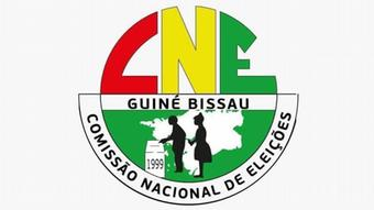 Photo of the logo of the National Election Commission of Guinea-Bissau