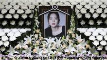 Tod einer weiteren Sängerin erschüttert Südkoreas Popszene