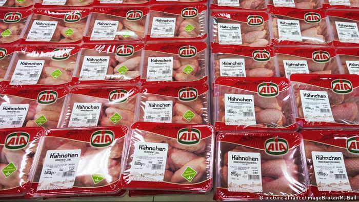 Курятина у мюнхенському супермаркеті