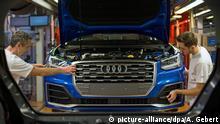 Ingolstadt | Fließband im Audi-Werk