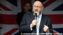 Großbritannien Anti-Semitismusdemonstration in Manchester   Rabbi Ephraim Mirvis