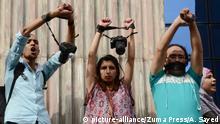 Ägypten 2016 World Press Freedom Day | Protest von Journalisten in Kairo