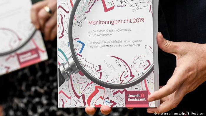 Deutschland Berlin | Monitoring-Bericht Klimawandelfolgen 2019 (picture-alliance/dpa/B. Pedersen)