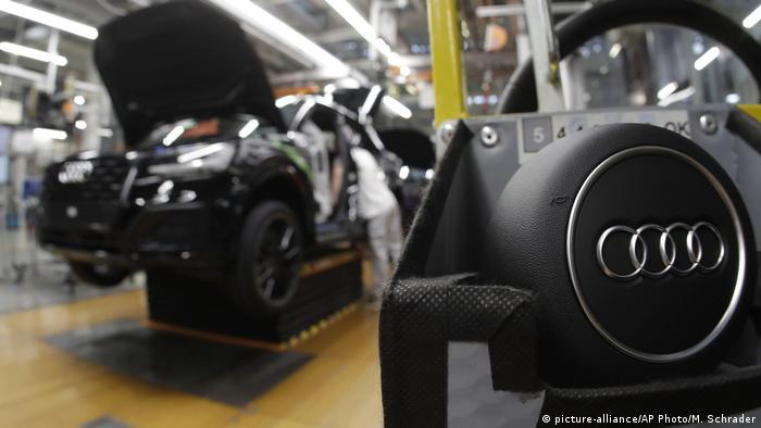 Audi's Ingolstadt production facility in southern Germany