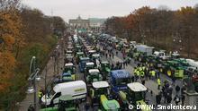 Berlin: Bauern legen Zentrum von Berlin lahm