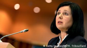 Wiceprzewodnicząca Komisji Europejskiej Vera Jourova