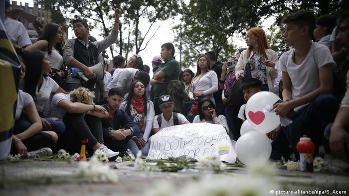 Schüler stirbt nach Protesten in Kolumbien, Bogotoa