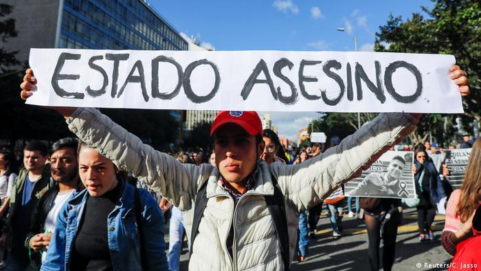 Colombia: siguen protestas en vísperas de segundo paro nacional | Las noticias y análisis más importantes en América Latina | DW | 27.11.2019