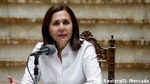 Karen Longaric | Außenministerin Bolivien