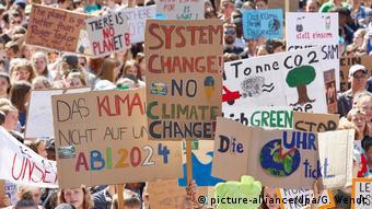 Учасники однієї з акцій на захист клімату, Гамбург, 2019