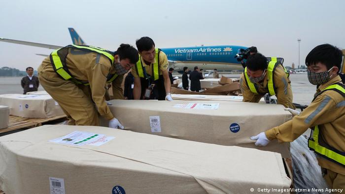 Vietnam Opfer Schleuser Flüchtlinge Asyl