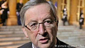 Der Luxemburgische Schatzminister und Chef der Eurogruppe Jean-Claude Juncker (Foto: dpa)