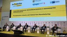 International Productivity Forum 2019 in Moskau Bild: DW-Korrespondentin Evlalia Samedowa, 26.11.2019