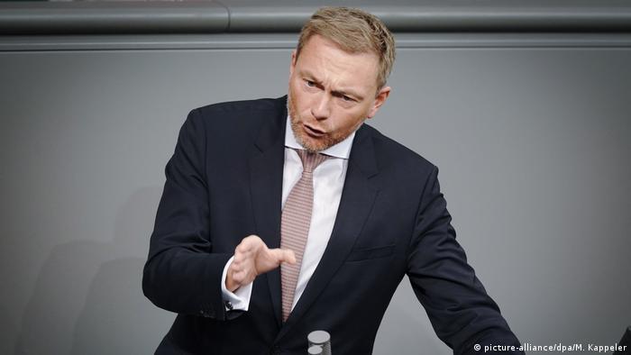 Bundestag Reden Christian Lindner FDP