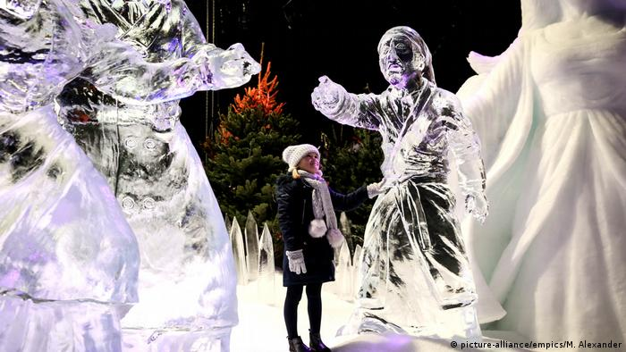 Great Britain | Winter Wonderland ice sculptures in Hyde Park (picture-alliance/empics/M. Alexander)