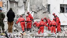 Albanien Thumane | Schäden nach Erdbeben