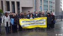 Türkei Prozess gegen angeklagten Menschenrechtsaktivisten