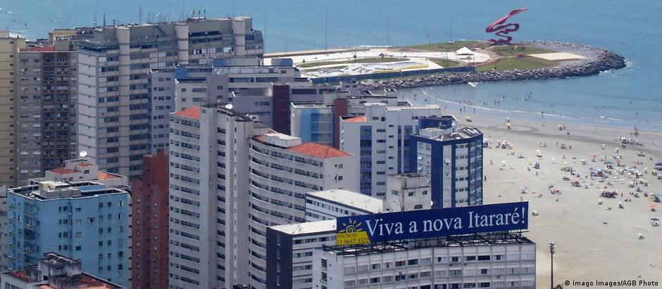 Prédios em Santos