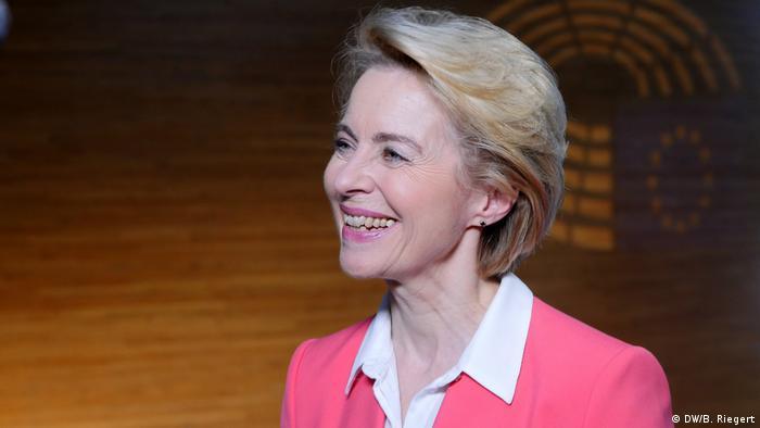 DW-Interview Ursula von der Leyen, EU-Kommissionspräsidentin