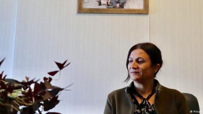 Türkan Elçi, Diyarbakır'da, Tahir Elçi Vakfı'nda.